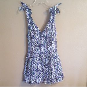 Other - New w/tags Floral romper juniors Large